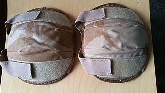 Knee pad - British desert fashion knee pads