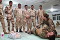 British soldiers conduct medical training with Iraqi Combat Medics Course students 160317-A-KH215-027.jpg