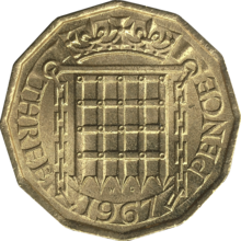 British threepence 1967 reverse.png