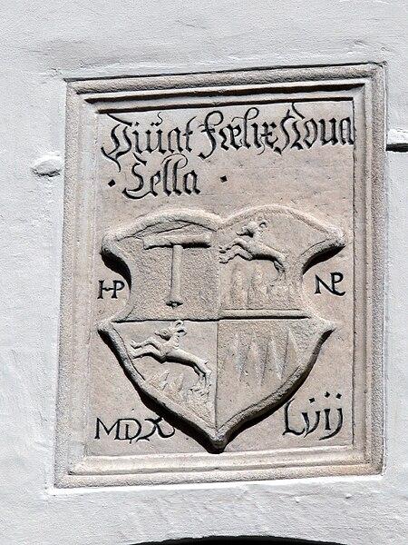 File:Brixen - Wappen Kloster Neustift bei Brixen 2.jpg
