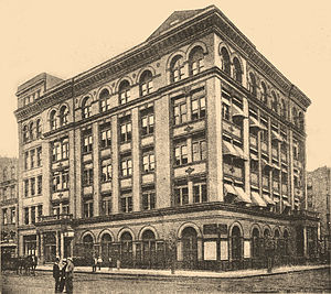 The Educational Alliance - The Alliance's flagship building, 197 East Broadway, in the early 20th century.