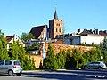 Brodnica, kościół farny św. Katarzyny widok z parkingu. - panoramio.jpg