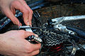 Broken derailleur hanger mountain bike.jpg
