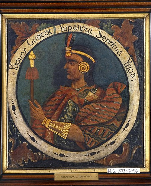 Brooklyn Museum - Yahuar Huacac Yupanqui, Seventh Inca, 1 of 14 Portraits of Inca Kings - overall.jpg