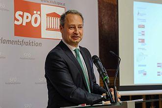 Andreas Schieder - Image: Bruno Kreisky Preis für das Politische Buch (26448179202)