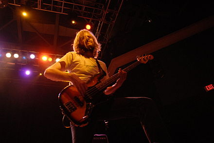 Bryan Richie was the last member to join The Sword, completing the original four-piece lineup of the band in 2004. BryanRichieOfTheSword.jpg
