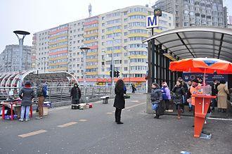 Obor - Obor Metro Station