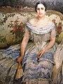 Bucuresti, Romania, Palatul Sutu, (portretul Sophiei Cihoschi (sotia Generalului Henri Cihoschi), pictat de Constantin Isachie si expus la Palatul Sutu).JPG