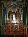 Bucuresti, Romania. BISERICA RUSA-Biserica Sf. Nicolae (B-II-m-A-18814) (interior pictat).jpg