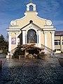 Bucuresti, Romania. Biserica Sfanta Tereza a Pruncului Isus. In incinta functioneaza si o scoala de elevi.jpg