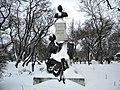 Bucuresti, Romania. PARCUL GRADINA ICOANEI (B-II-a-B-18301). Statuia lui G.C.Cantacuzino (5).jpg