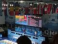 Budapest2017 fina world championships - 200freestyle - scoreboard - results - on screen Aleksandr Krasnykh.jpg