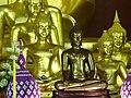 Buddha Figures in Main Hall - Wat Phra Singh - Chiang Mai - Thailand - 01 (35007869981).jpg