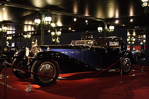 Bugatti Royale - Chassis no.41100, known as the Coupé Napoleon, at home in the Musée National de l'Automobile de Mulhouse