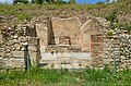Building A of the the Northern area of the Forum, Rusellae, Etruria, Italy (43188312665).jpg