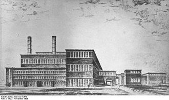 AEG - AEG power station built in 1930. Krivoy Rog city.
