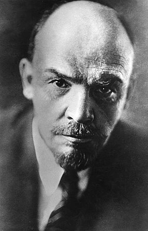 Leninism - The Russian revolutionary Lenin (Vladimir Ilyich Ulyanov) in 1920