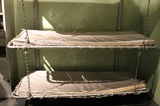 Intrepid Sea, Air & Space Museum - Sailors' bunks