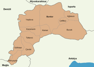 Burdur location districts.png