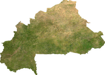Burkina Faso-Geography and climate-Burkina sat