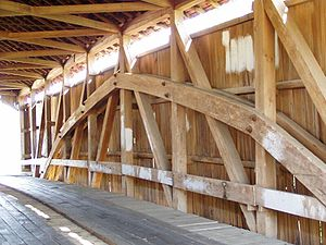 Burr Truss - Image: Burr Truss P4230093 Sims Smith