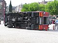 Bus tips onto its side-Museumplein-2.jpg