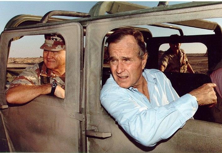 Bush saudi arabia