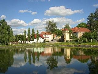 Buštěhrad Town in Central Bohemian, Czech Republic