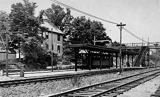 Butler station (MBTA) - The newly opened Butler Street station in 1931