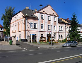 Bystřany, municipal office.jpg