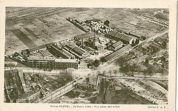 En 1922, la manufacture Pleyel était bien isolée...