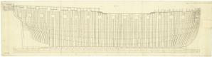 HMS Cambrian (1797) - Image: CAMBRIAN 1797 RMG J5505