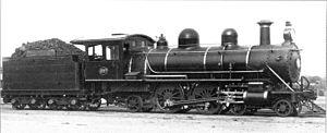 CGR 4th Class 4-4-2 - CGR 4th Class 4-4-2 no. 297, c. 1910
