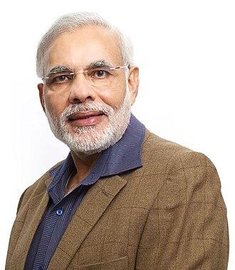2014 in India - Image: CM Narendra Damodardas Modi