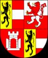 COA archbishop AT Kuen-Belasy Johann Jakob.png