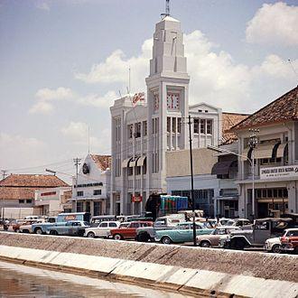 Antara (news agency) - Antara office in Jakarta, 1971