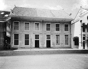 Toko Merah - Toko Merah as the office of the Bank voor Indië
