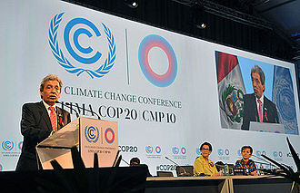 2014 United Nations Climate Change Conference - Opening of COP20.