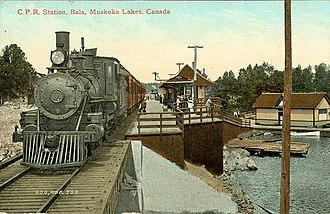 Bala, Ontario - CPR station circa 1910