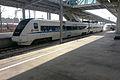CRH1-136A in Ningbodong Railway Station.jpg