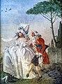Ca' Rezzonico - Portego del mondo nuovo - Minuetto in villa di Zianigo - Giandomenico Tiepolo.jpg