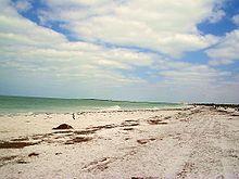 Caladesi Island State Park White Sand Florida