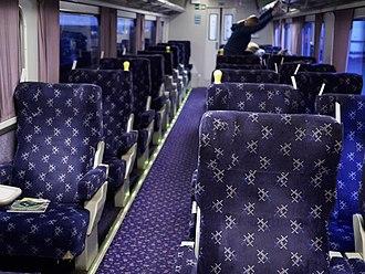 Caledonian Sleeper - Seated carriage on the Caledonian Sleeper