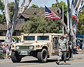 California State Military Reserve marches with Humvee (26602697713).jpg