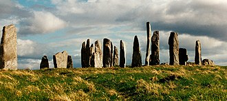Scottish mythology - Callanish Standing stones