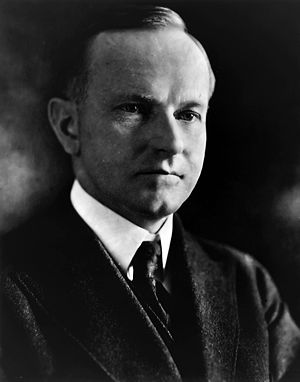 I do not choose to run - Calvin Coolidge