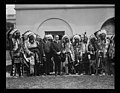 Calvin Coolidge and group of Native Americans outside White House, Washington, D.C. LCCN2016894206.jpg