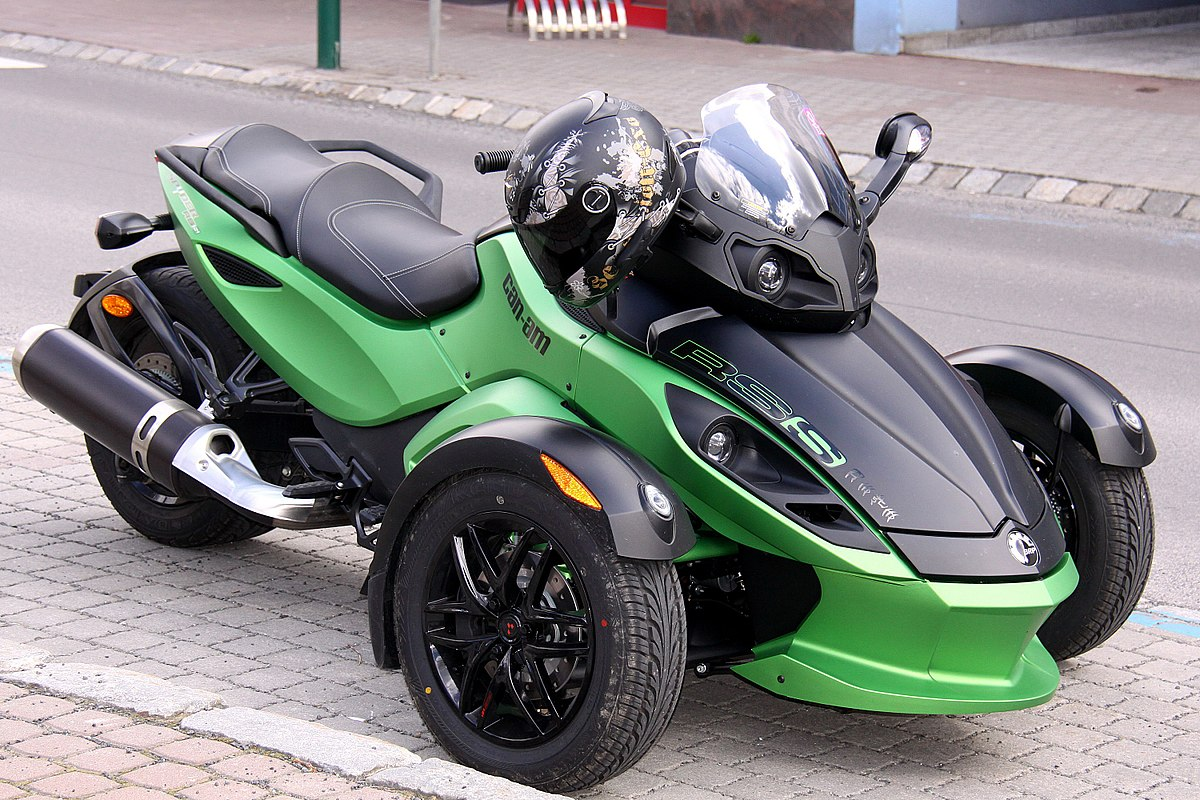 Can Am Spyder Roadster >> Brp Can Am Spyder Roadster Wikipedia