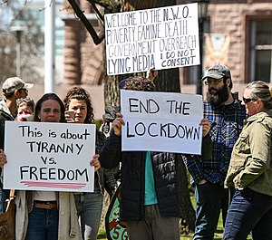 Canadian COVID-19 protesters (cropped).jpg