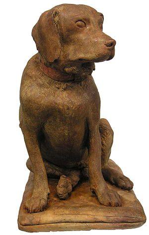 Cane Tago - Dog Tago statue